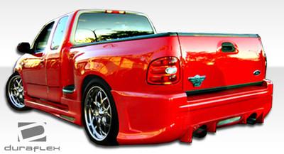 Ford F150 2DR Platinum Duraflex Rear Body Kit Bumper 1997-2003