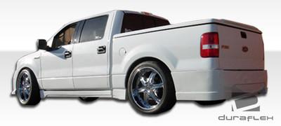 Ford F150 4DR Platinum Duraflex Rear Body Kit Bumper 2004-2008