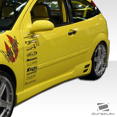 Ford Focus HB Evo 3 Duraflex Side Skirts Body Kit 2000-2007