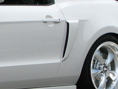 Ford Mustang Boss Look Side Duraflex Scoop 2010-2014
