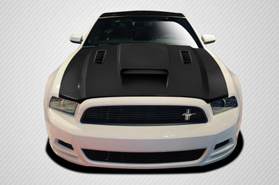 Ford Mustang CV-X Carbon Fiber Creations Body Kit- Hood 2013-2014