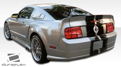 Ford Mustang CVX Duraflex Rear Body Kit Bumper 2005-2009