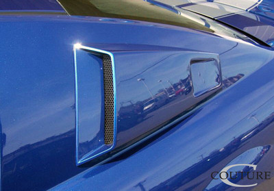 Ford Mustang CVX Window Couture Scoop 2005-2009