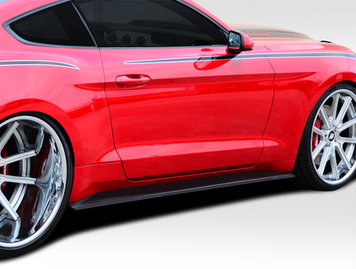 Ford Mustang GT Concept Duraflex Side Skirts Body Kit 2015-1916