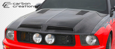 Ford Mustang GT500 Carbon Fiber Creations Body Kit- Hood 2005-2009