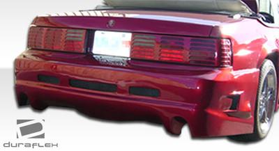 Ford Mustang GTX Duraflex Rear Body Kit Bumper 1979-1993