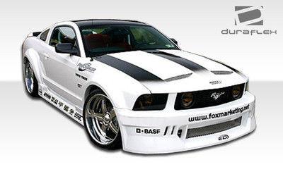 Ford Mustang Hot Wheels Duraflex Full 9 Pcs Wide Body Kit 2005-2009