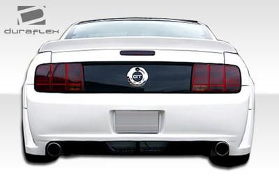 Ford Mustang Hot Wheels Duraflex Rear Wide Body Kit Bumper 2005-2009