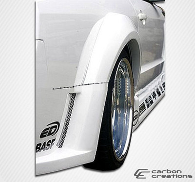 Ford Mustang Hot Wheels Duraflex Wide Fender Flares 2005-2009
