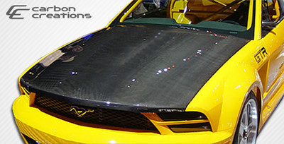 Ford Mustang OEM Carbon Fiber Creations Body Kit- Hood 2005-2009