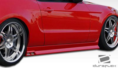 Ford Mustang Racer 3 Duraflex Side Skirts Body Kit 2005-2014