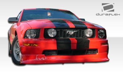 Ford Mustang Racer Duraflex Front Bumper Lip Body Kit 2005-2009