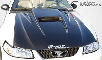Ford Mustang Spyder 3 Carbon Fiber Creations Body Kit- Hood 1999-2004