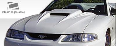 Ford Mustang Spyder 3 Duraflex Body Kit- Hood 1994-1998