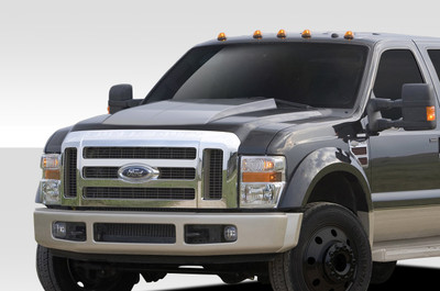 Ford Super Duty Cowl Duraflex Body Kit- Hood 2008-2010