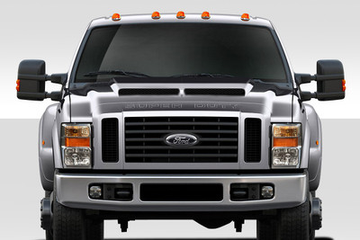 Ford Super Duty CV-X Duraflex Body Kit- Hood 2008-2010
