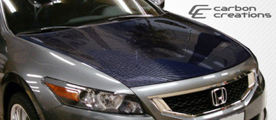 Honda Accord 2DR OEM Carbon Fiber Creations Body Kit- Hood 2008-2012