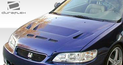Honda Accord 2DR Predator Duraflex Body Kit- Hood 1998-2002