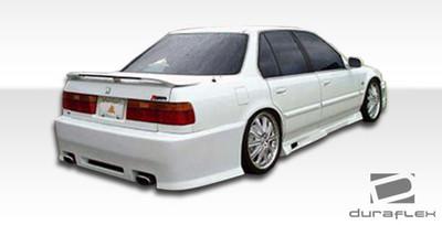Honda Accord 2DR Spyder Duraflex Rear Body Kit Bumper 1990-1993