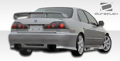 Honda Accord 4DR Spyder Duraflex Rear Body Kit Bumper 1998-2002