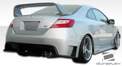 Honda Civic 2DR GT500 Duraflex Rear Wide Body Kit Bumper 2006-2011