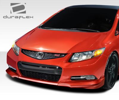 Honda Civic 2DR H-Sport Duraflex Front Add On Body Kit 2012-2013
