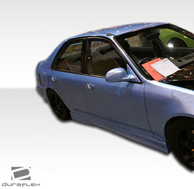 Honda Civic 2DR M3 Look Duraflex Side Skirts Body Kit 1992-1995