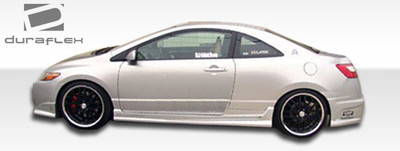 Honda Civic 2DR Raven Duraflex Side Skirts Body Kit 2006-2011