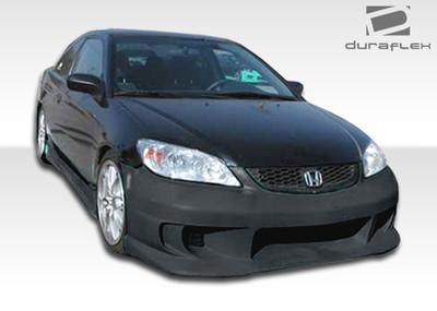 Honda Civic 2DR TS-1 Duraflex Front Body Kit Bumper 2004-2005