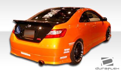 Honda Civic 2DR Type M Duraflex Rear Body Kit Bumper 2006-2011