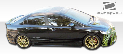 Honda Civic 4DR B-2 Duraflex Side Skirts Body Kit 2006-2011