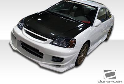 Honda Civic 4DR Bomber Duraflex Full Body Kit 2001-2003