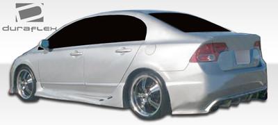 Honda Civic 4DR I-Spec Duraflex Side Skirts Body Kit 2006-2011