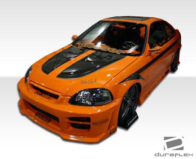 Honda Civic 4DR R34 Duraflex Full Body Kit 1999-2000
