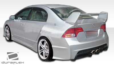 Honda Civic 4DR R-Spec Duraflex Side Skirts Body Kit 2006-2011