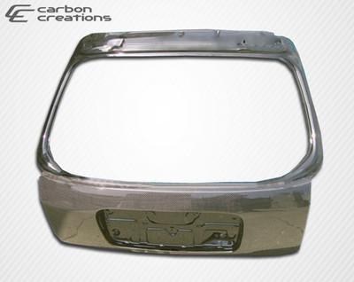 Honda Civic HB OEM Carbon Fiber Creations Body Kit-Trunk/Hatch 1996-2000