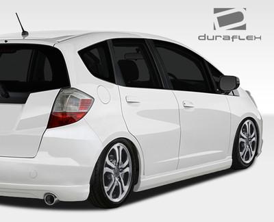 Honda Fit A-Spec Duraflex Side Skirts Body Kit 2009-2013