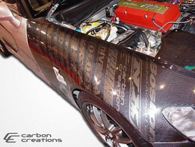Honda S2000 OEM Carbon Fiber Creations Body Kit- Fenders 2000-2009