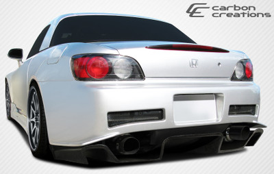 Honda S2000 SP-N Carbon Fiber Creations Rear Diffuser 2000-2009