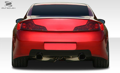 Infiniti G Coupe 2DR GT500 Duraflex Rear Wide Body Kit Bumper 2003-2007
