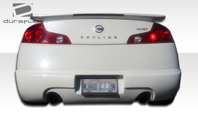 Infiniti G Coupe 2DR I-Spec Duraflex Rear Body Kit Bumper 2003-2007