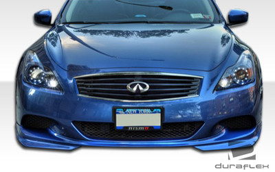Infiniti G Coupe 2DR J-Spec Duraflex Front Bumper Lip Body Kit 2008-2010