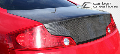 Infiniti G Coupe 2DR OEM Carbon Fiber Creations Body Kit-Trunk/Hatch 2003-2007