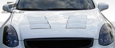Infiniti G Coupe 2DR TS-1 Duraflex Body Kit- Hood 2003-2007
