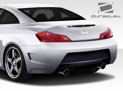 Infiniti G Coupe Convertible Elite Duraflex Rear Body Kit Bumper 2008-2015