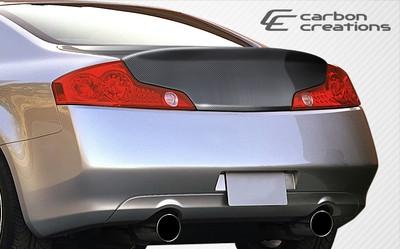 Infiniti G Coupe HD-R Carbon Fiber Creations Body Kit-Trunk/Hatch 2003-2007