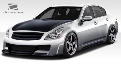Infiniti G Sedan 4DR Elite Duraflex Full Body Kit 2010-2013