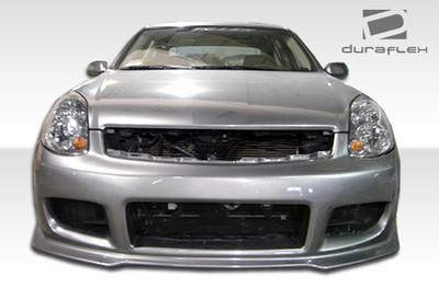 Infiniti G Sedan 4DR GT Competition Duraflex Front Body Kit Bumper 2003-2004