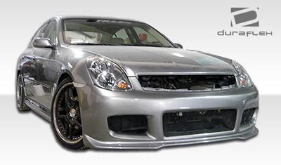 Infiniti G Sedan 4DR GT Competition Duraflex Full Body Kit 2003-2004