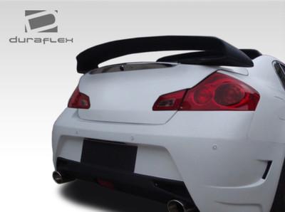 105952 07-13 Fits Infiniti G Sedan 4DR GT Spec Duraflex Body Kit-Wing//Spoiler!!